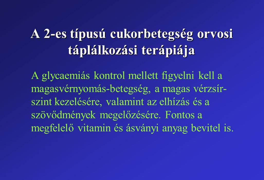 cukorbetegség és táplálkozási hipertónia)