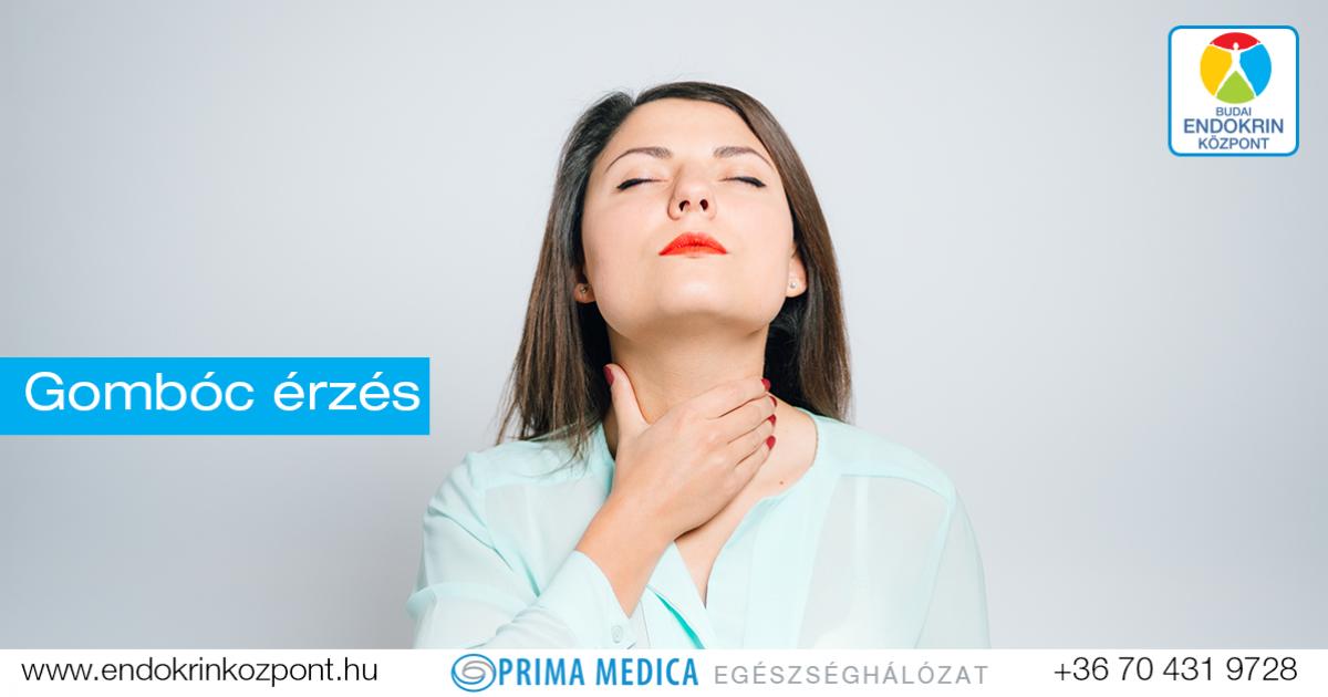 magas vérnyomás csomó a torokban köhögés)
