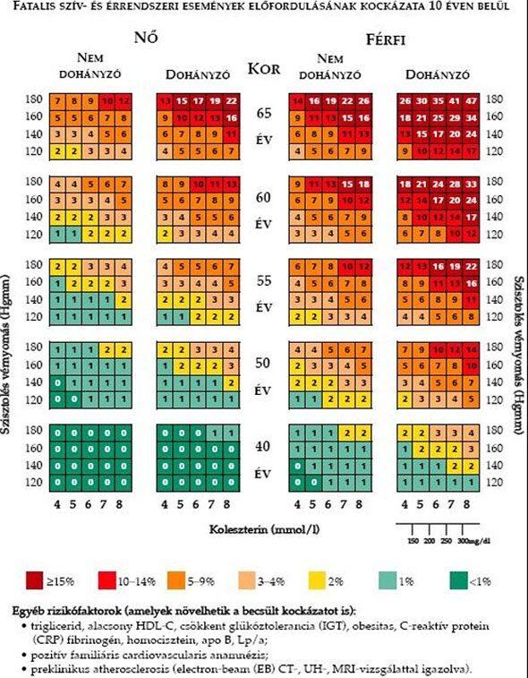 1 2 3 kockázati csoport magas vérnyomásban)