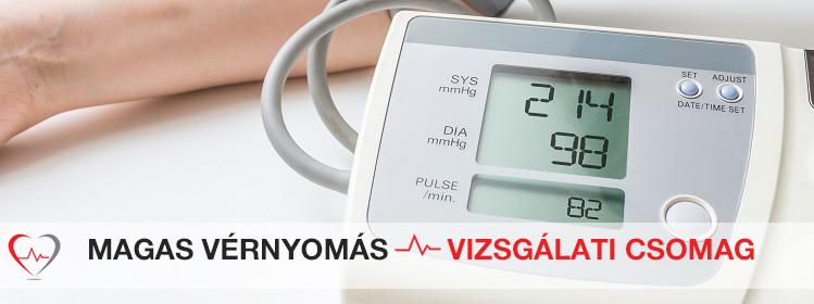 hogy a kardiogram ne mutasson magas vérnyomást)