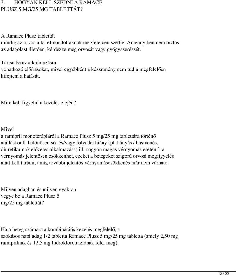 hidroklorotiazid magas vérnyomás esetén