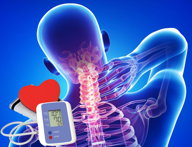 masszázs magas vérnyomás és osteochondrosis esetén