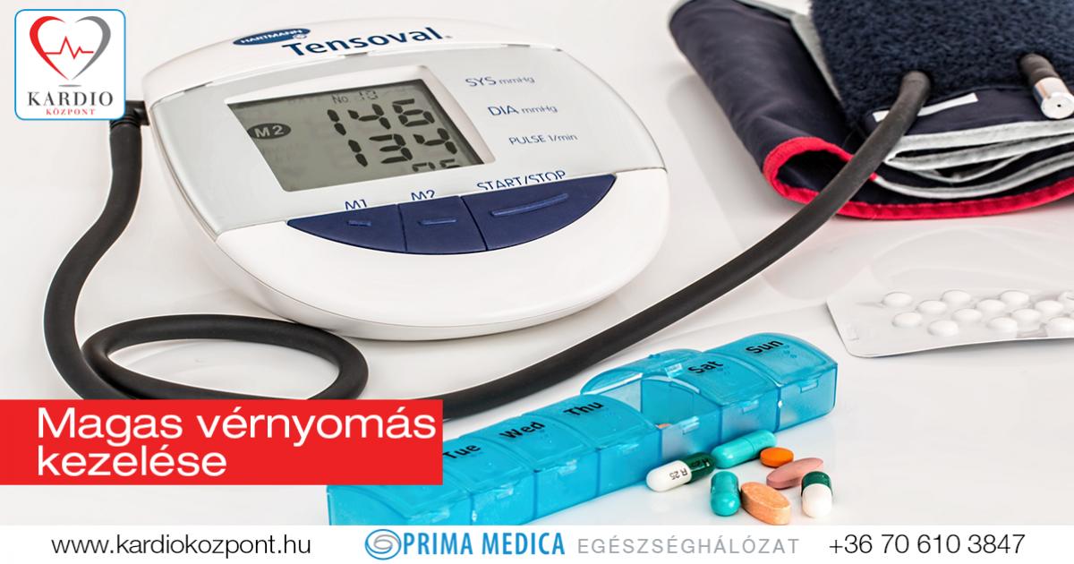 magas vérnyomás kezelés alatt krónikus magas vérnyomás betegség