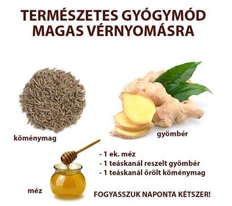 magas vérnyomás kezelés mézzel)