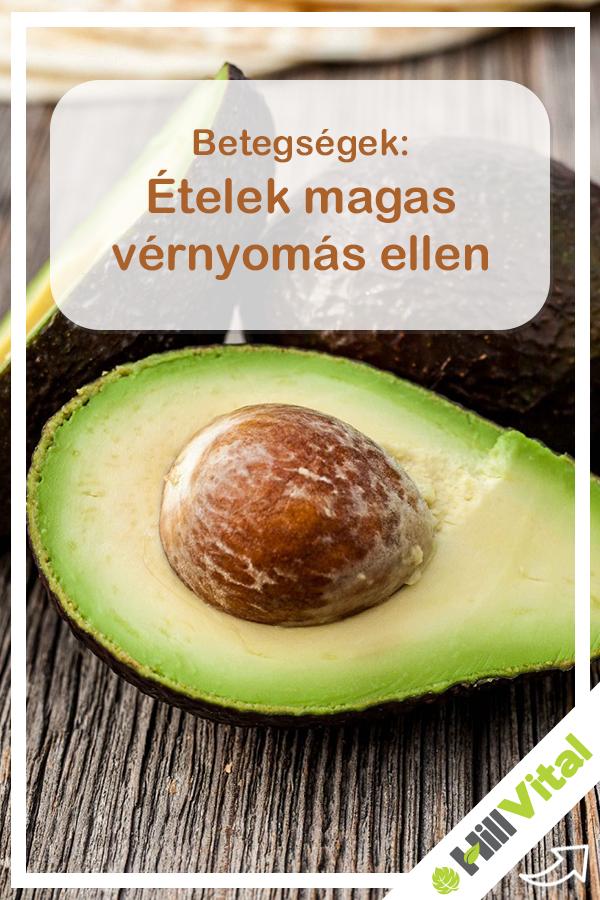 egészséges táplálék magas vérnyomás ellen)