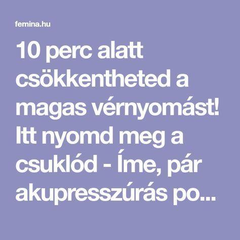 magas vérnyomás pont)