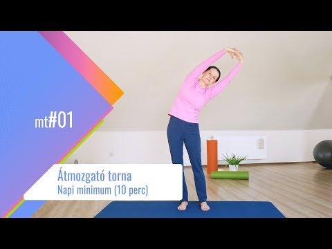reggeli gyakorlatok magas vérnyomásért videó
