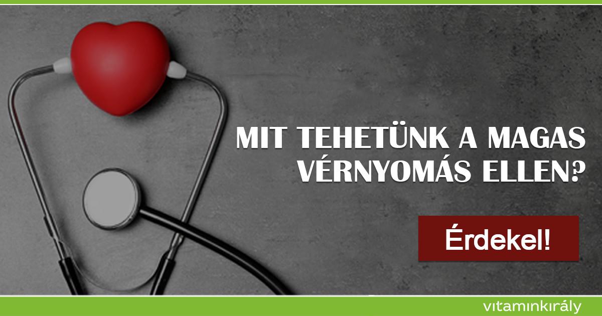 pp-vitamin magas vérnyomás esetén magas vérnyomás és tachycardia kezelése