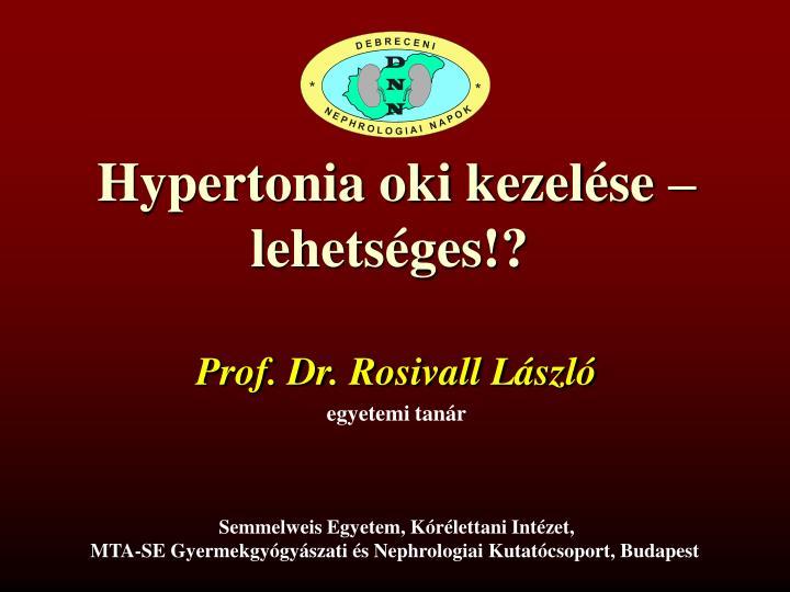 nephrologist magas vérnyomás kezelés