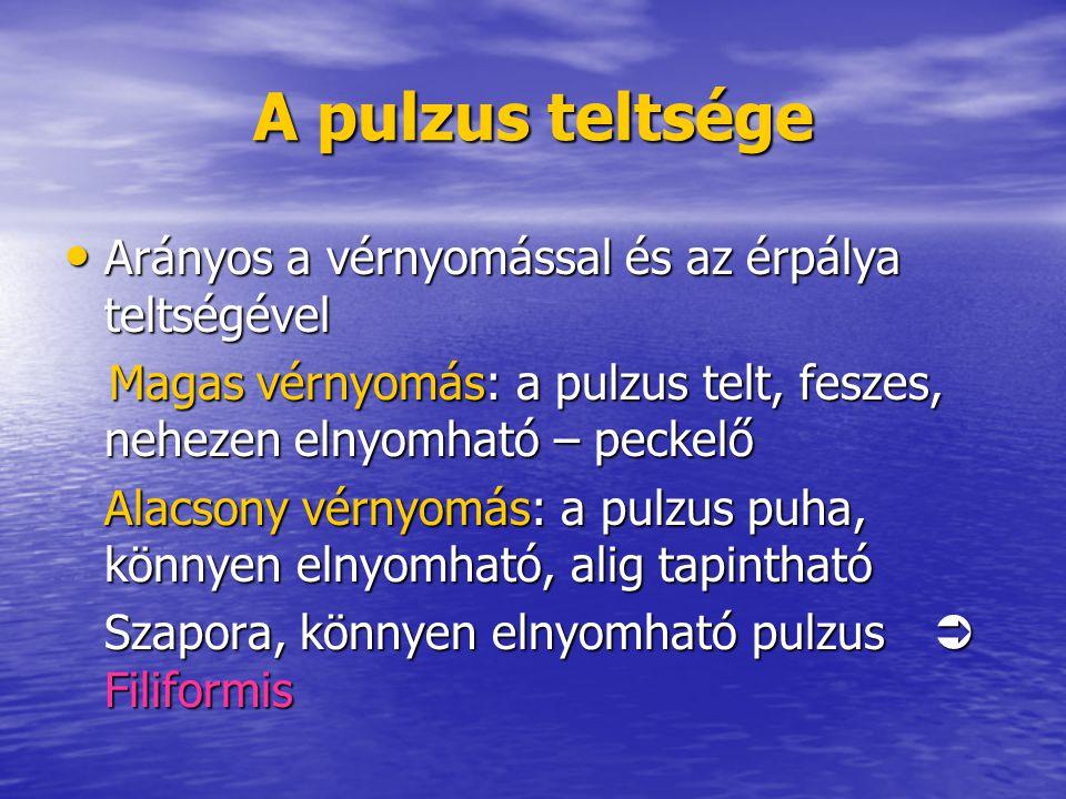 magas vérnyomás pulzus jellemzői)