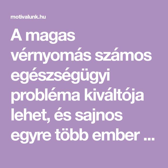 melissa és magas vérnyomás)