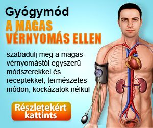 magas vérnyomás elleni gyógymódok)