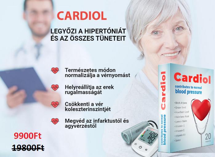 a magas vérnyomás kezelésénél a vérnyomás élesen csökken)