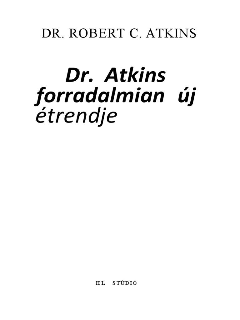magas vérnyomás dr atkins