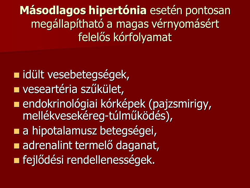 KMO hipertónia esetén)