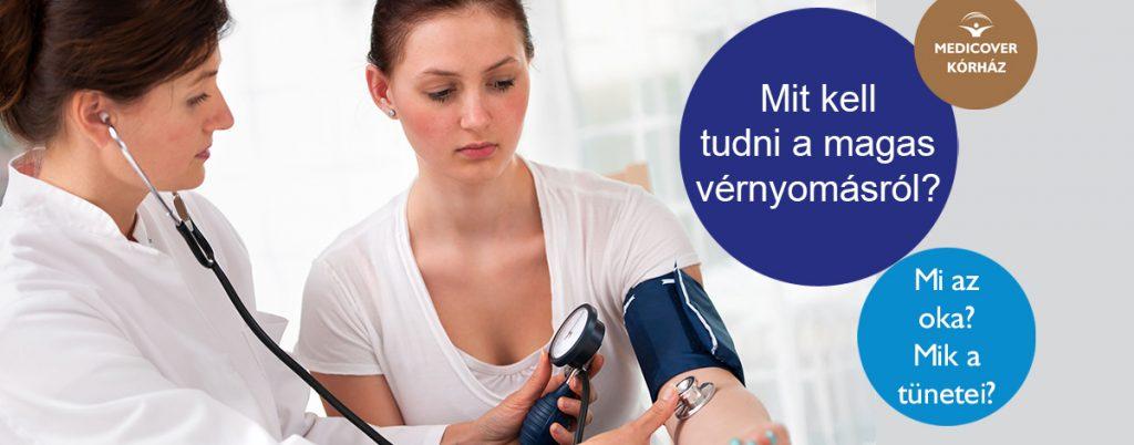 magas vérnyomás a klinikán