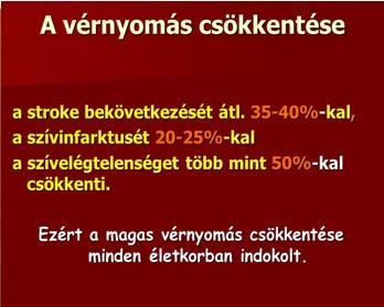 fokozott magas vérnyomás kezelés)