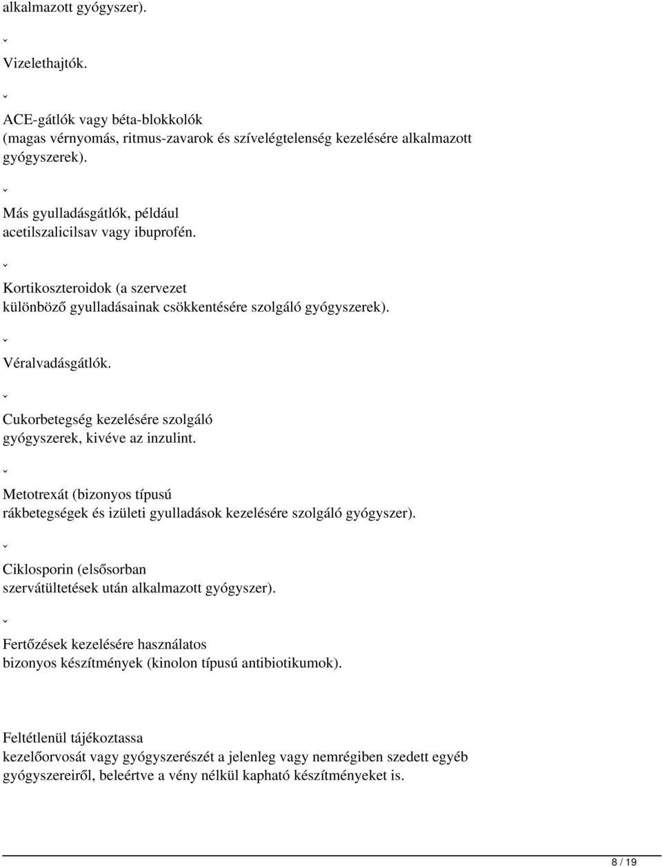 metotrexát és magas vérnyomás