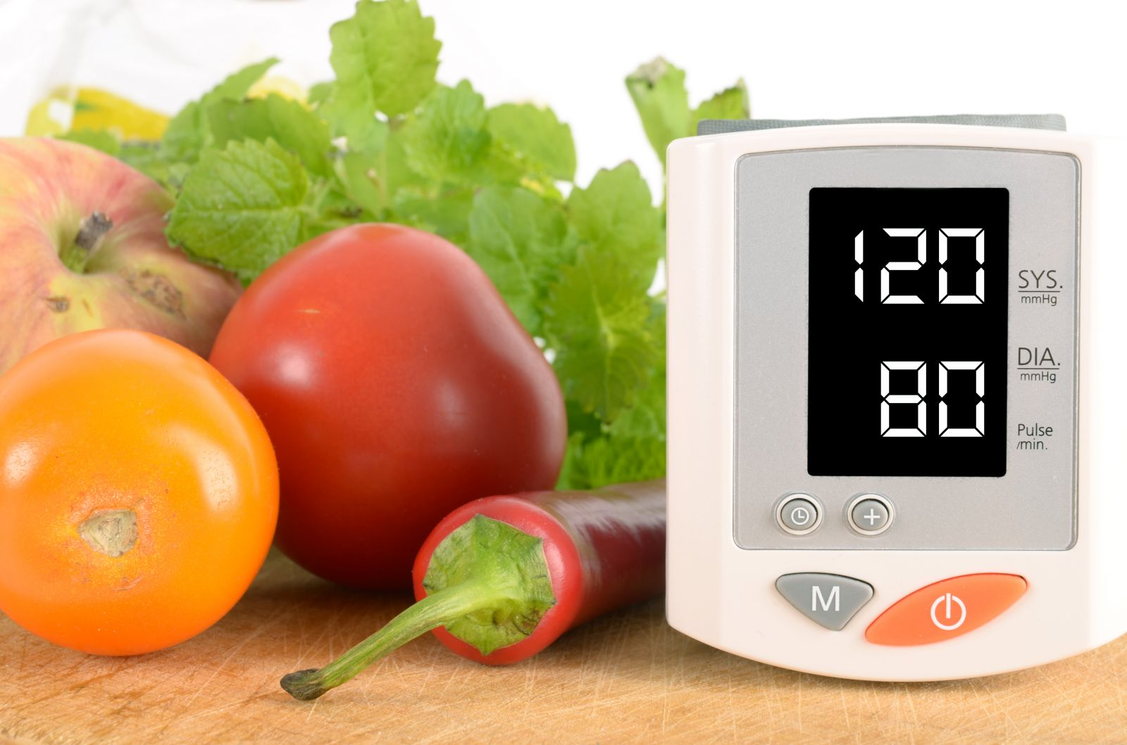 Természetes vérnyomáscsökkentés