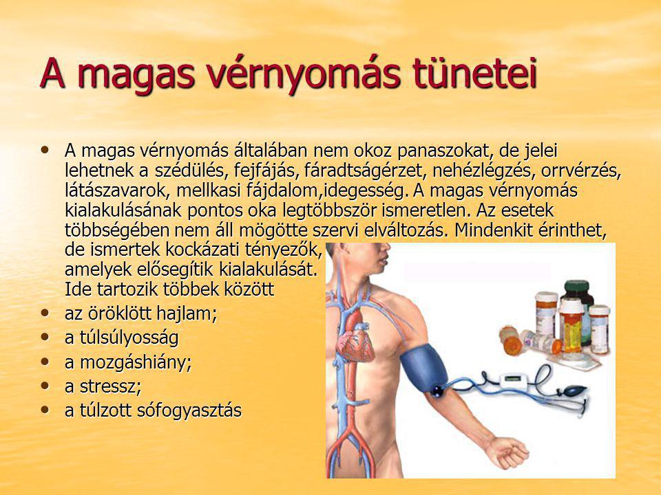 magas vérnyomás jelei és kezelése)