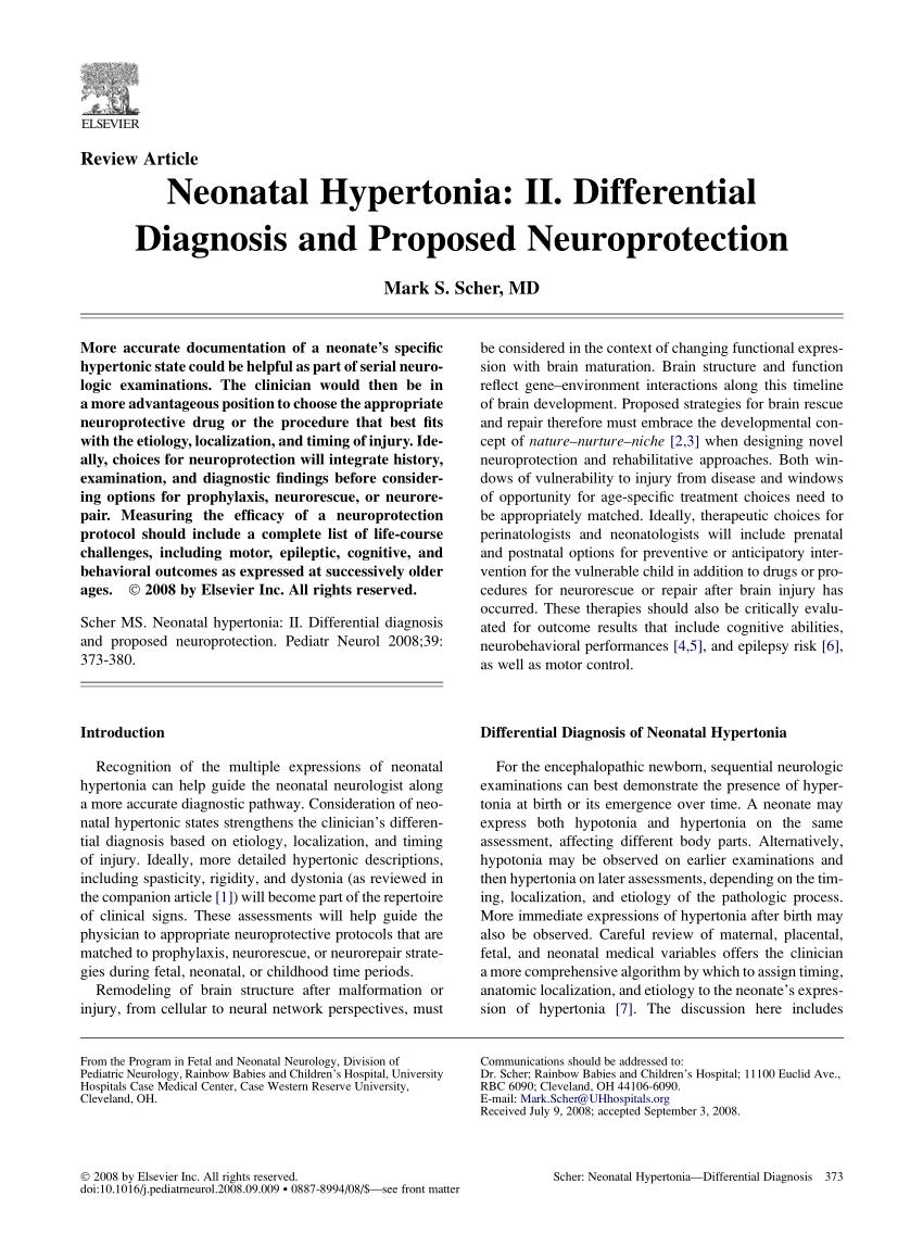 demenshin hipertónia