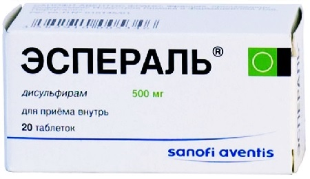 ANTAETHYL 500 MG TABLETTA