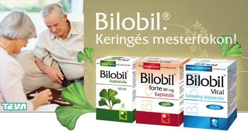 BILOBIL FORTE 80 mg kemény kapszula - Gyógyszerkereső - EgészségKalauz