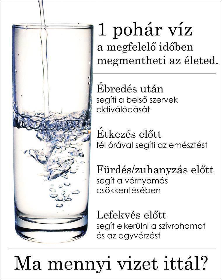 magas vérnyomás és vízmennyiség)