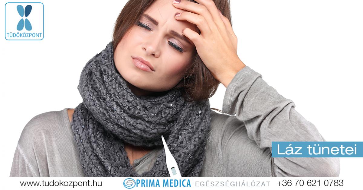 magas vérnyomás és testhő