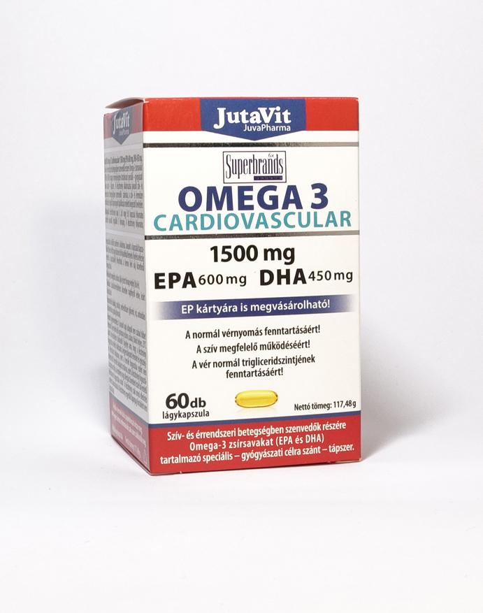 Szív és érrendszer és az Omega-3 kapcsolata