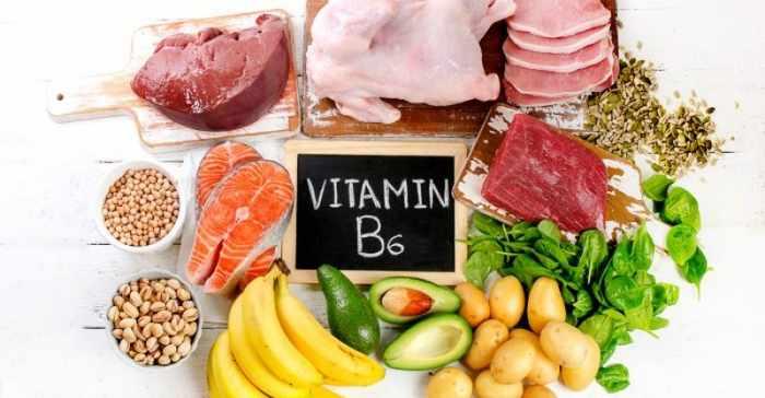 vitaminok magas vérnyomás esetén b6